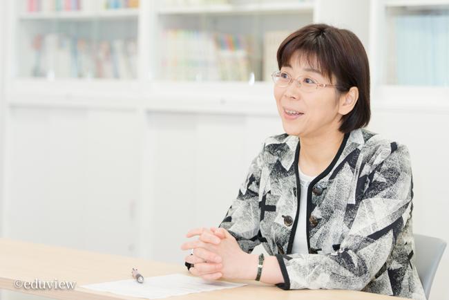 西岡先生インタビュー写真